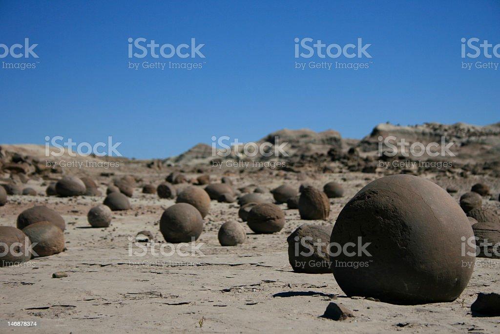 round stones stock photo