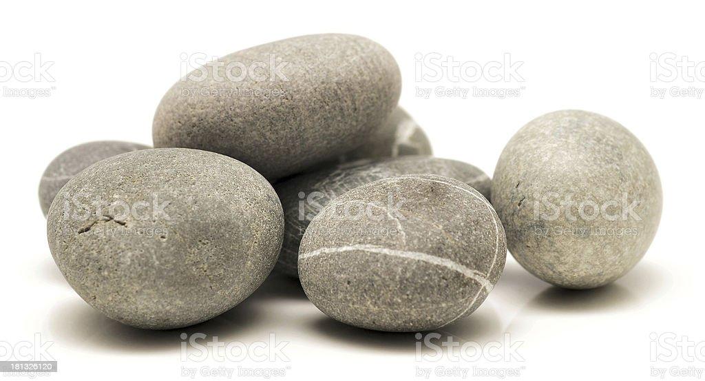 round stones royalty-free stock photo