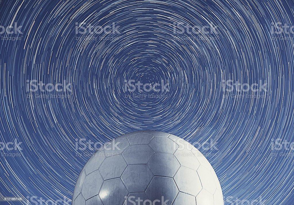 Round the Dome stock photo