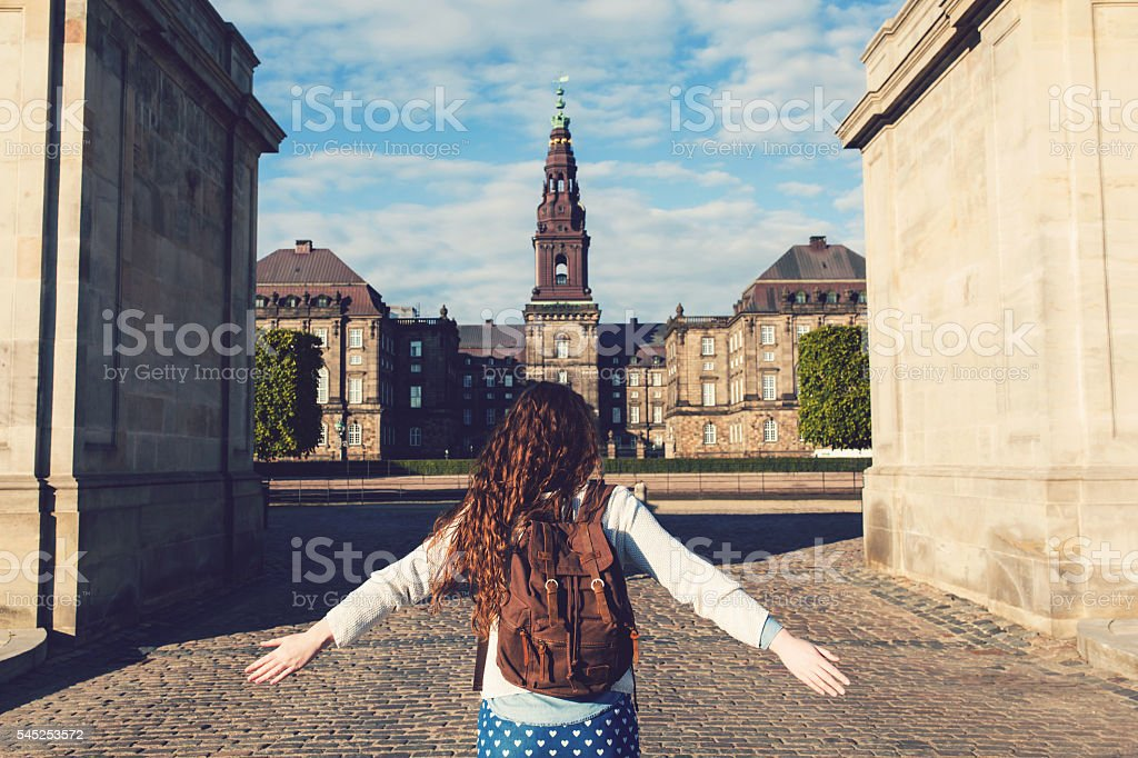 Round The World stock photo
