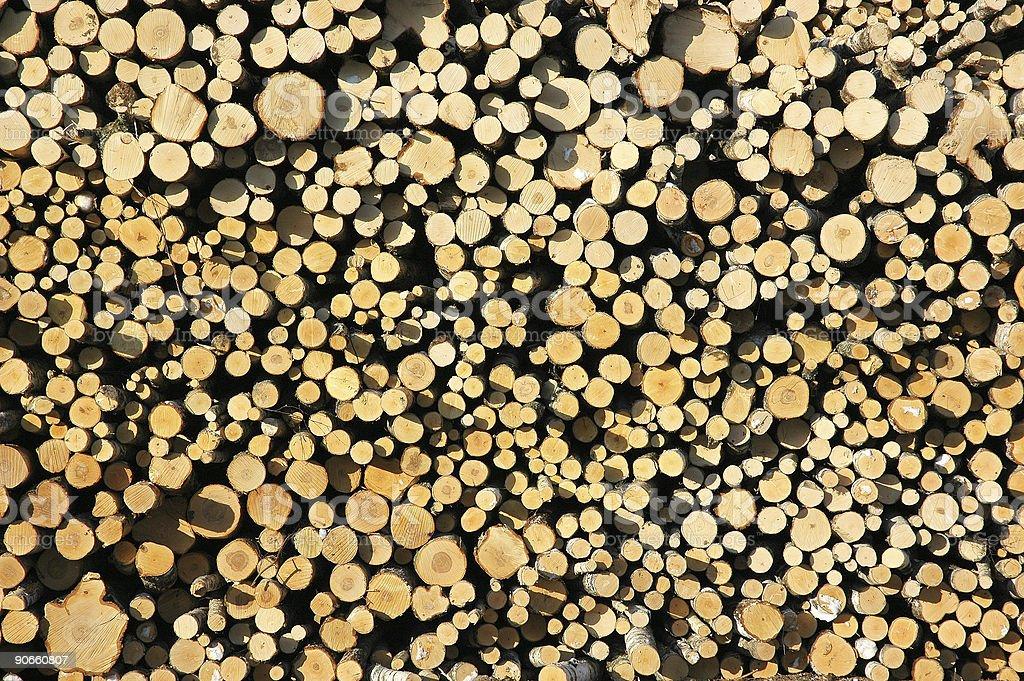 Fond en bois ronde photo libre de droits