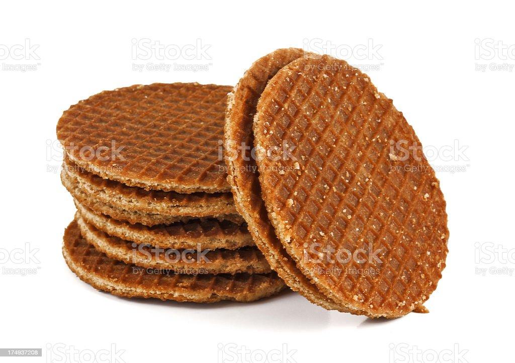 round wafers stock photo