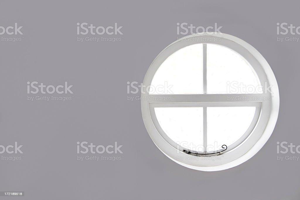 Round Window royalty-free stock photo