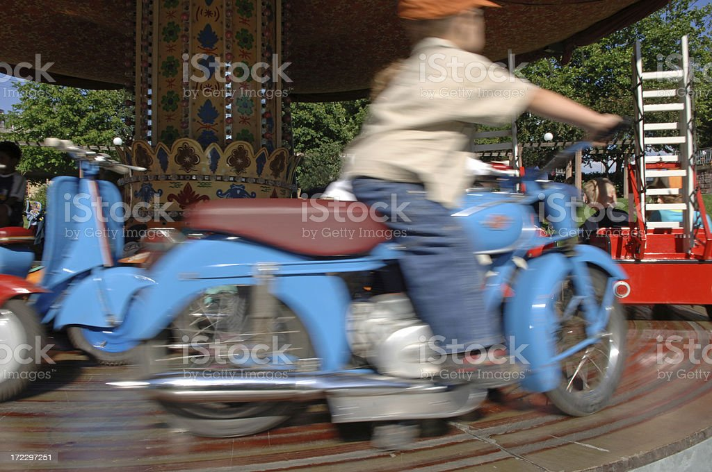 'Roundabout, blur' stock photo