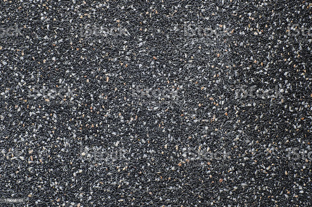 rounded pebble stones cement royalty-free stock photo