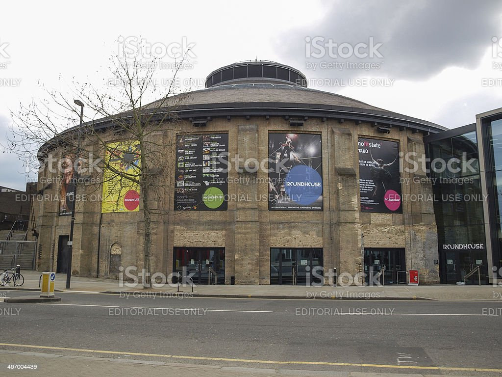 Roundhouse in London stock photo