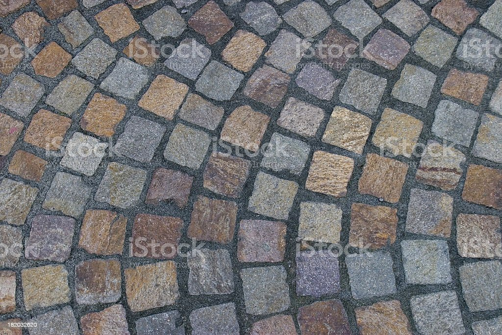 Rounding Bricks royalty-free stock photo