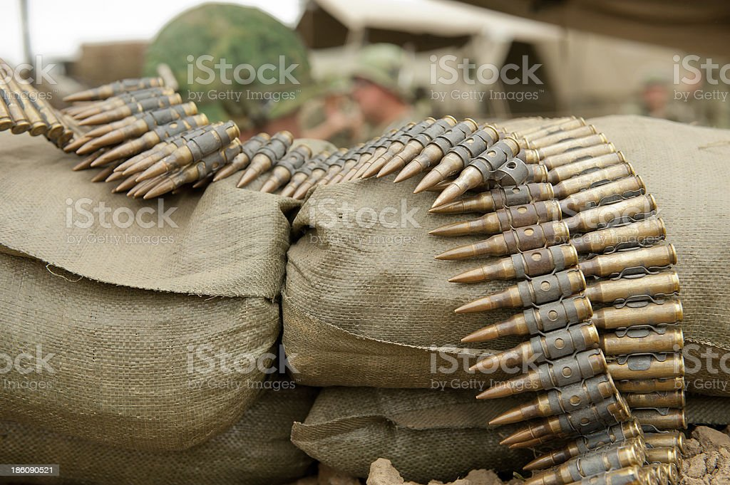 Rounds Of Ammunition stock photo