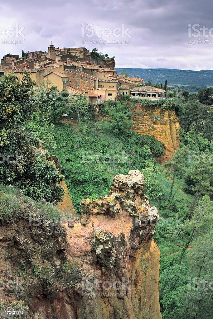 Roussillon royalty-free stock photo