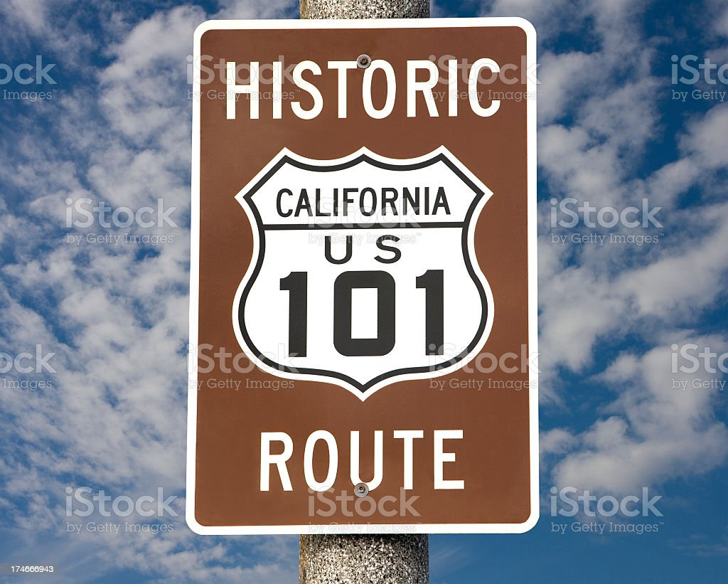 route 101 stock photo