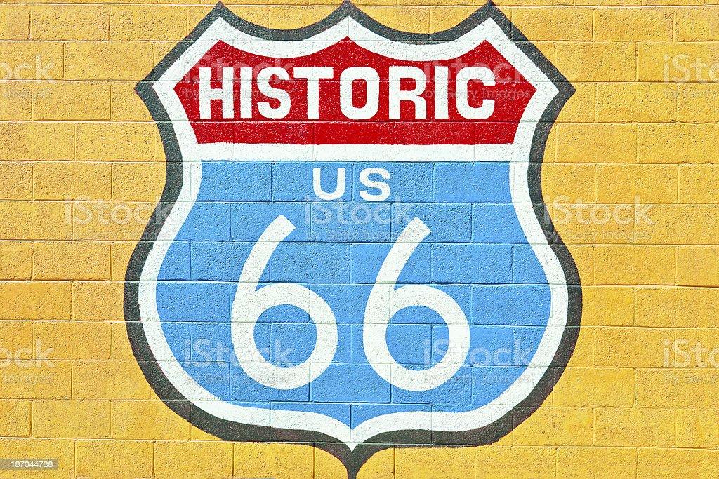 Route 66 in Seligman, Arizona, USA. royalty-free stock photo