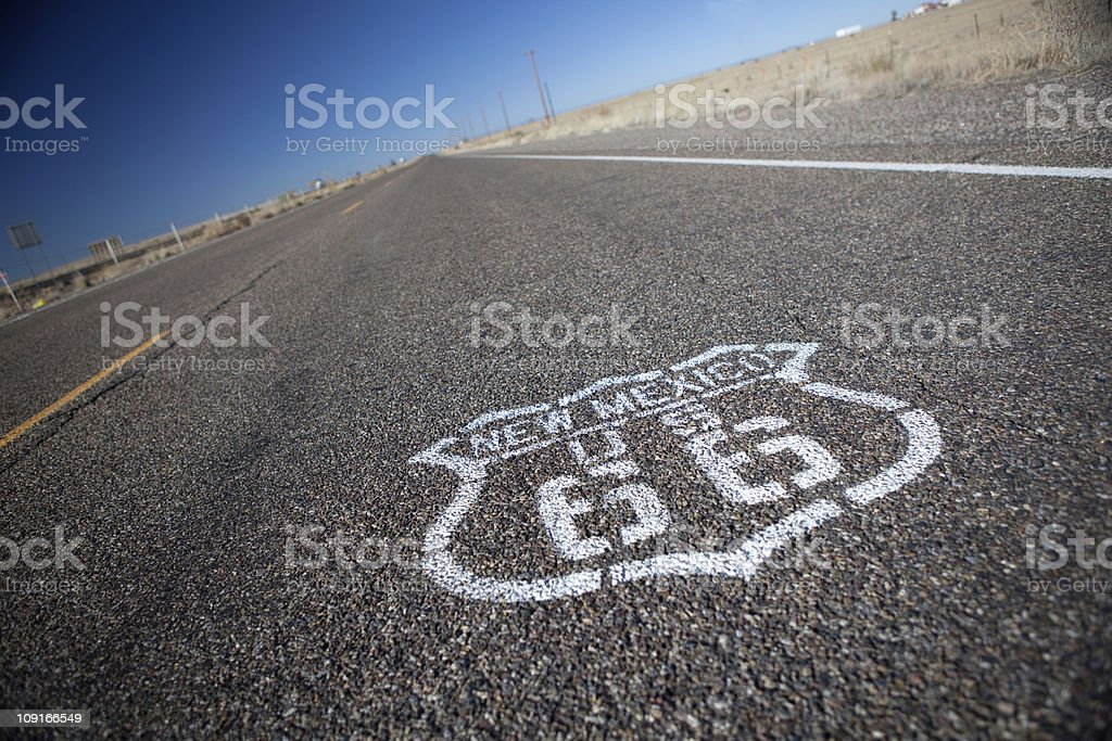Route 66. royalty-free stock photo