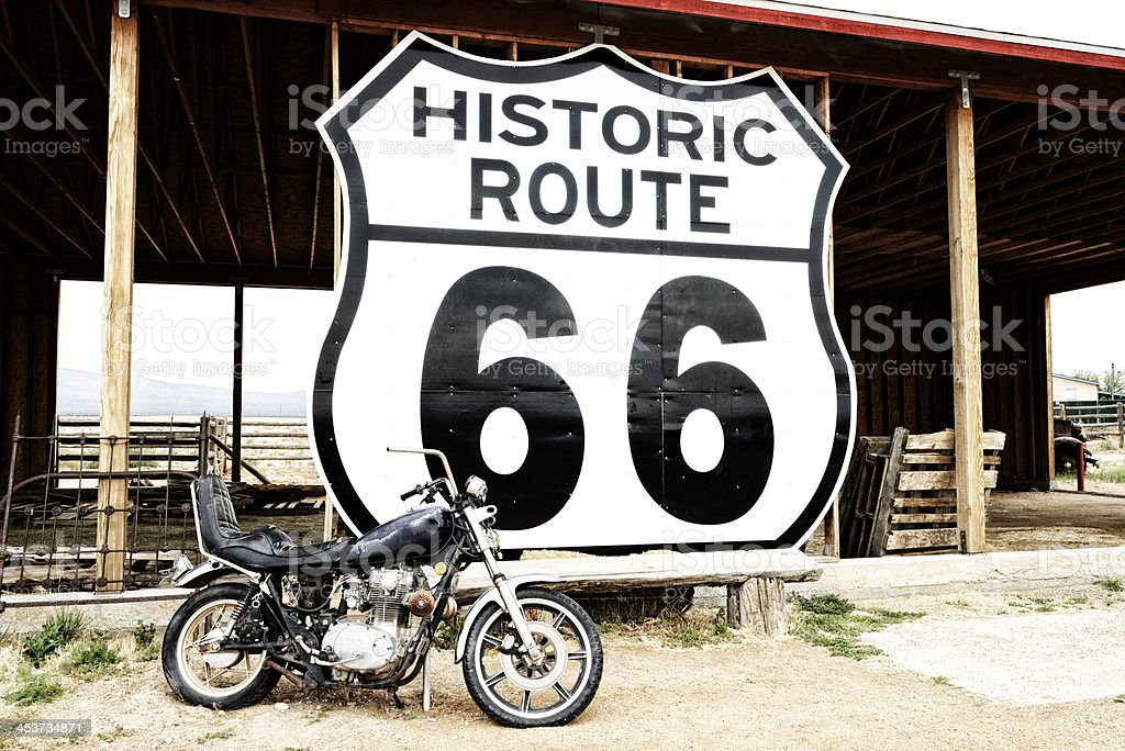 Route 66 stock photo