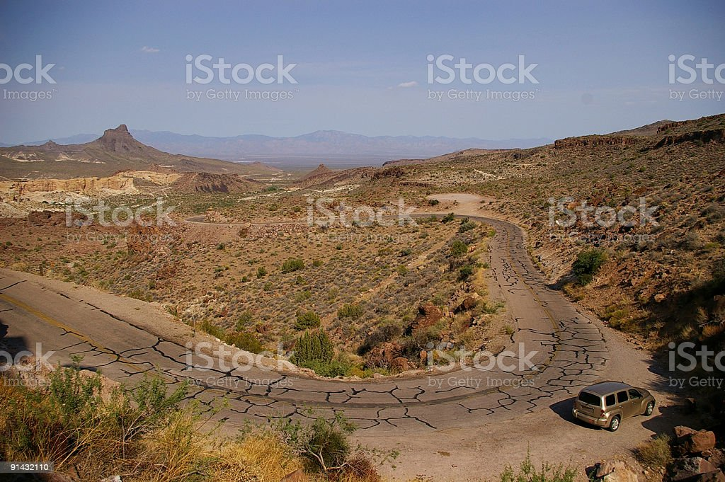Route 66 scenic royalty-free stock photo