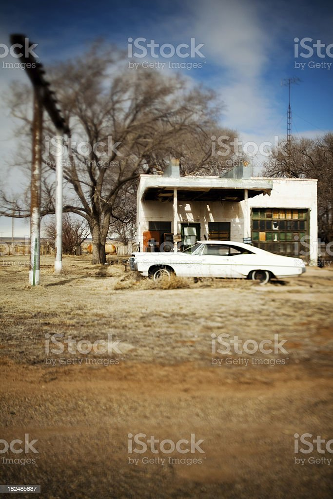 Route 66 stop royalty-free stock photo