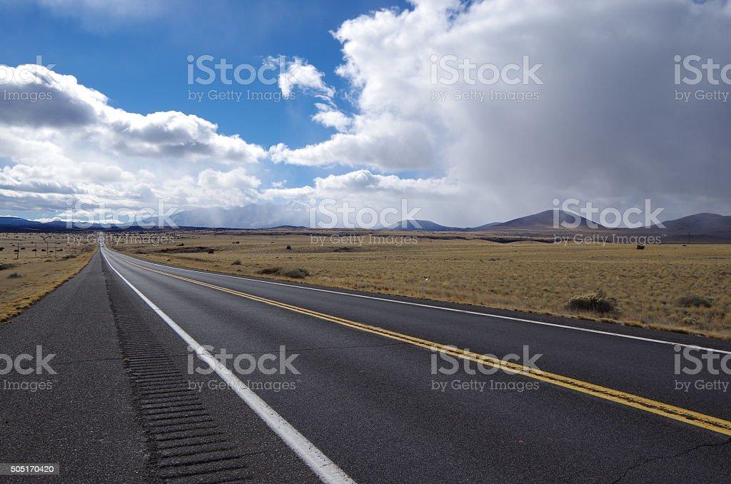 Route 89 stock photo