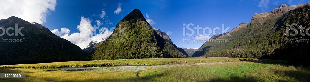 Routeburn Track, New Zealand royalty-free stock photo