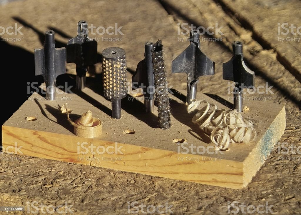 router bits royalty-free stock photo