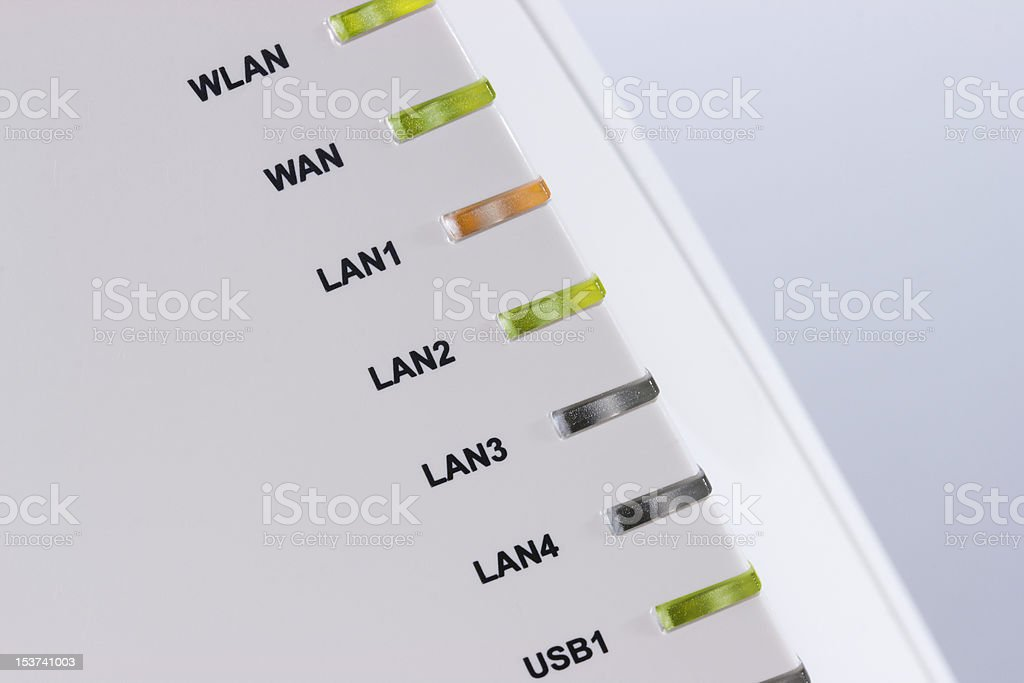 Router royalty-free stock photo