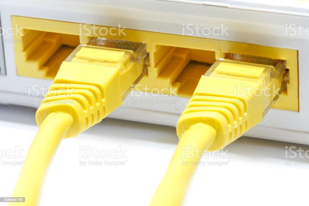 router Wireless  LAN stock photo
