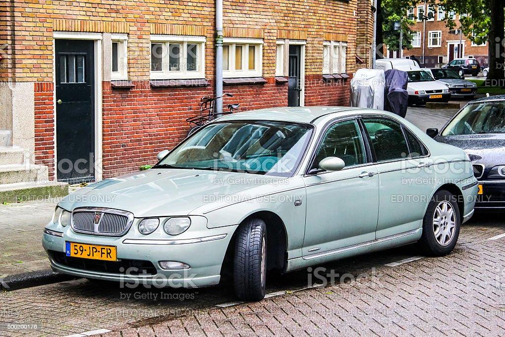 Rover 75 stock photo