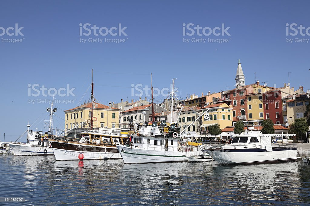 Rovinj, Croatia stock photo
