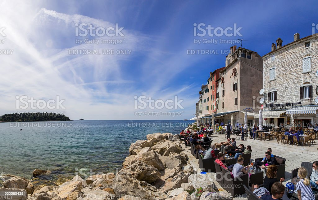 Rovinj,Croatia stock photo