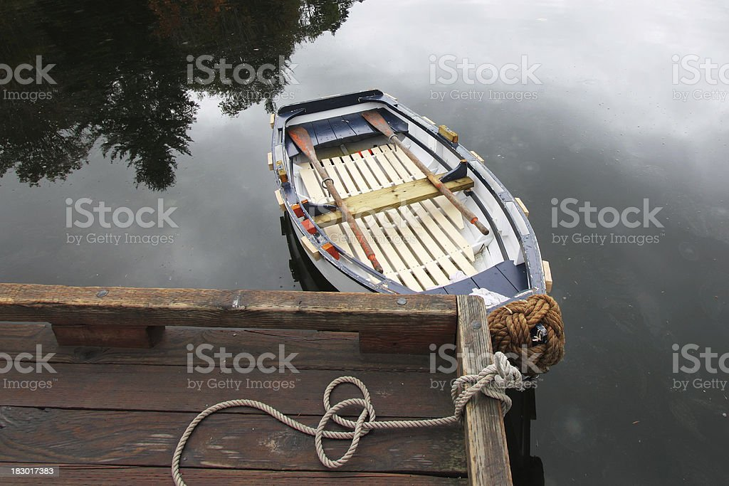 Row Boat royalty-free stock photo