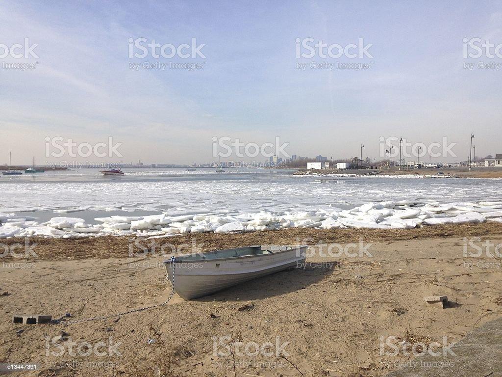 Row Boat royalty-free stock photo