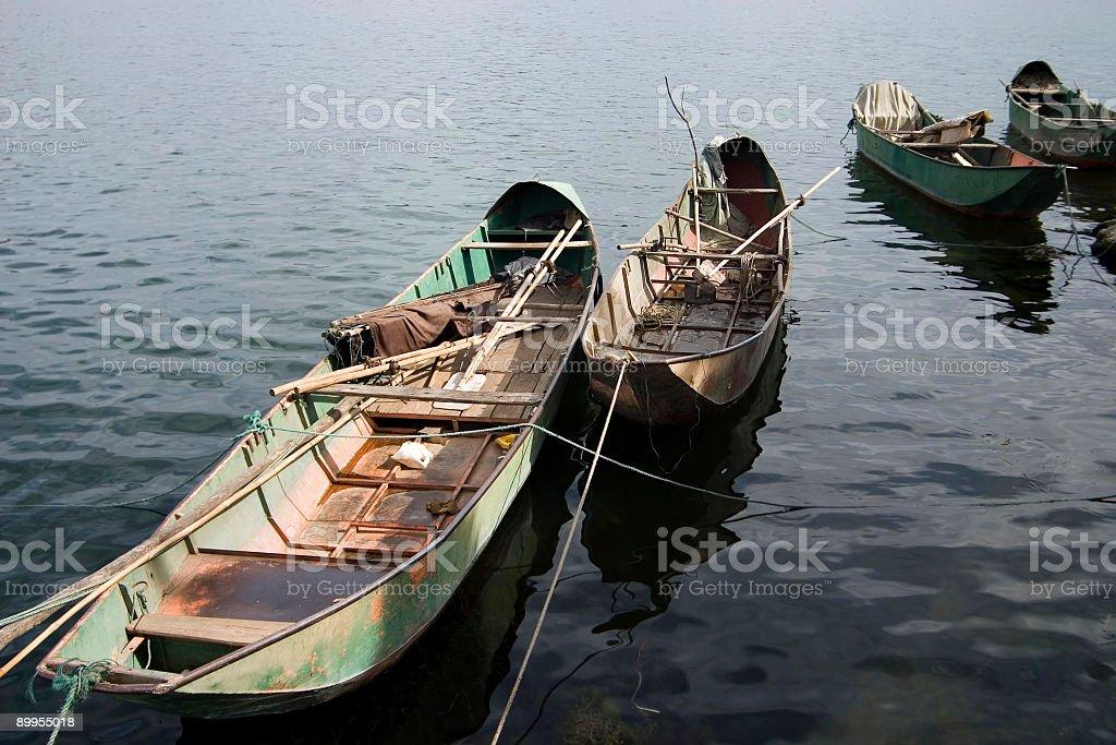Row Boats royalty-free stock photo
