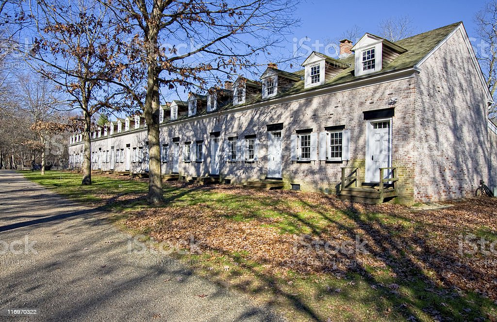 Row Houses royalty-free stock photo