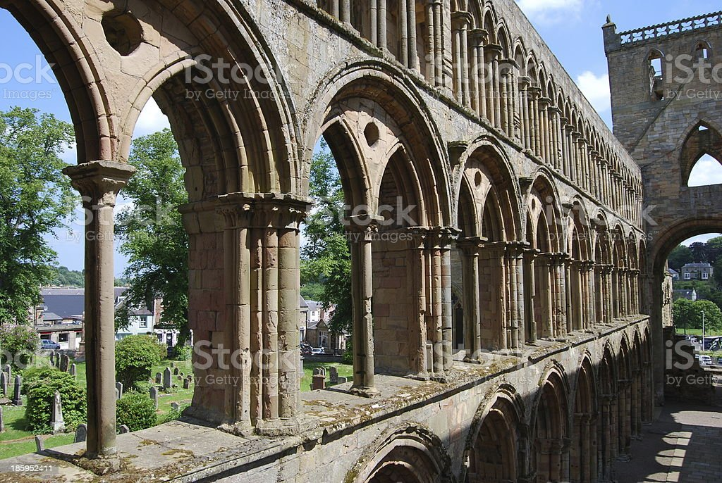 Row of Arches stock photo
