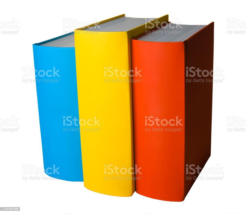 Row of books royalty-free stock photo
