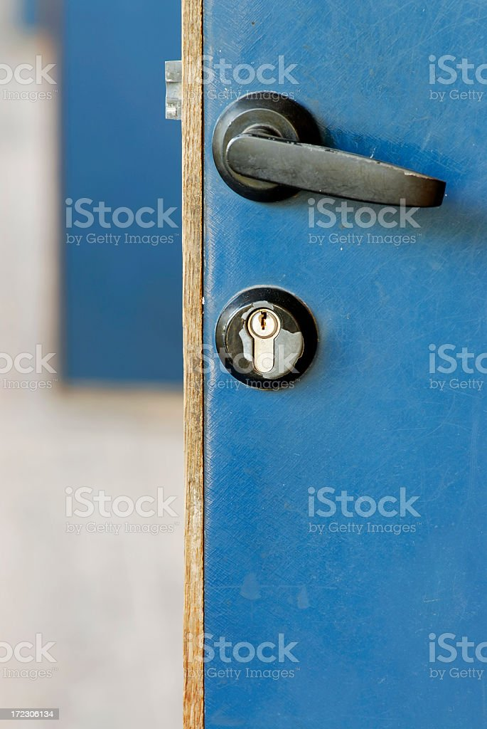 Row of Doors stock photo