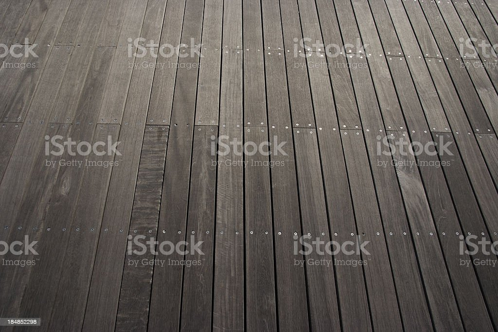 Row of stained wood texture background royalty-free stock photo