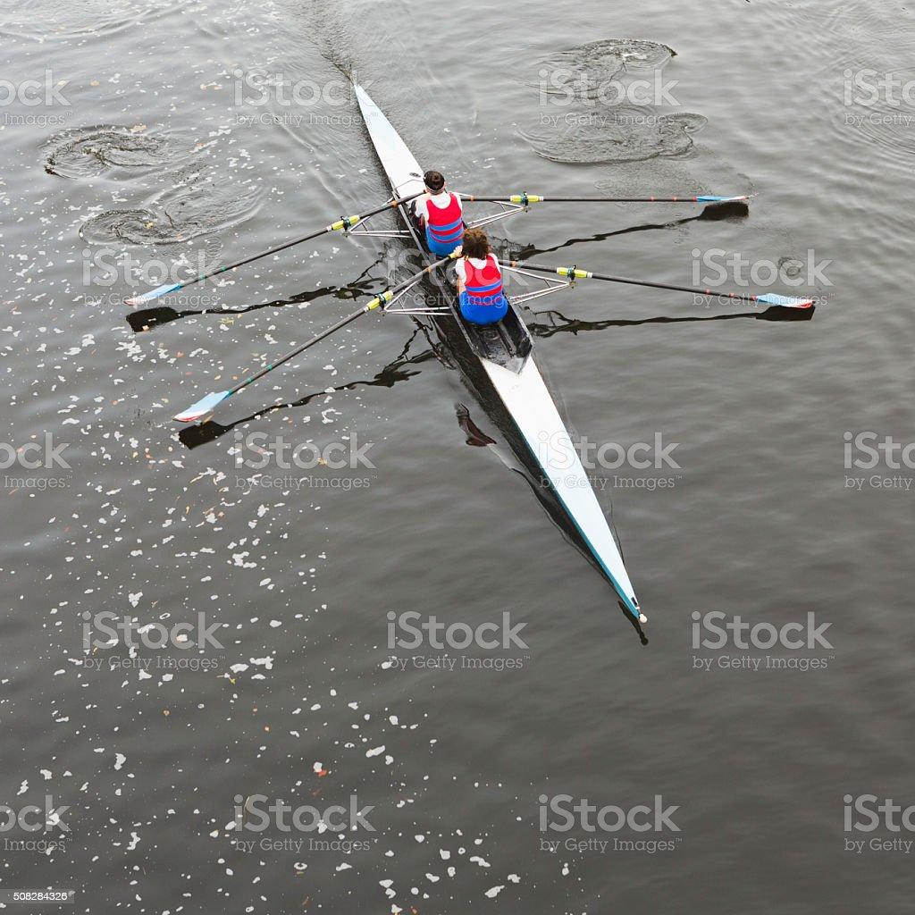 Row, Row, Row Your Boat! stock photo