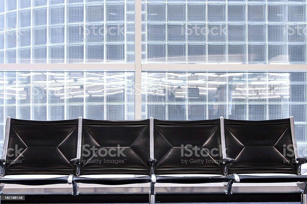 Row seating stock photo
