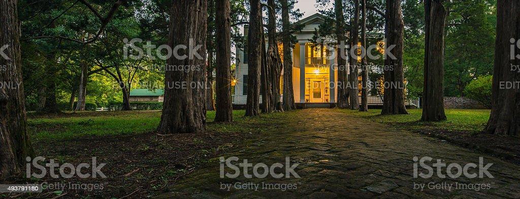Rowan Oak In Oxford Mississippi stock photo
