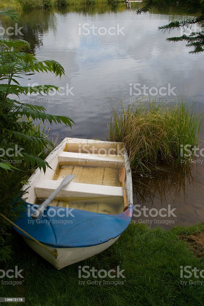 Rowboat royalty-free stock photo
