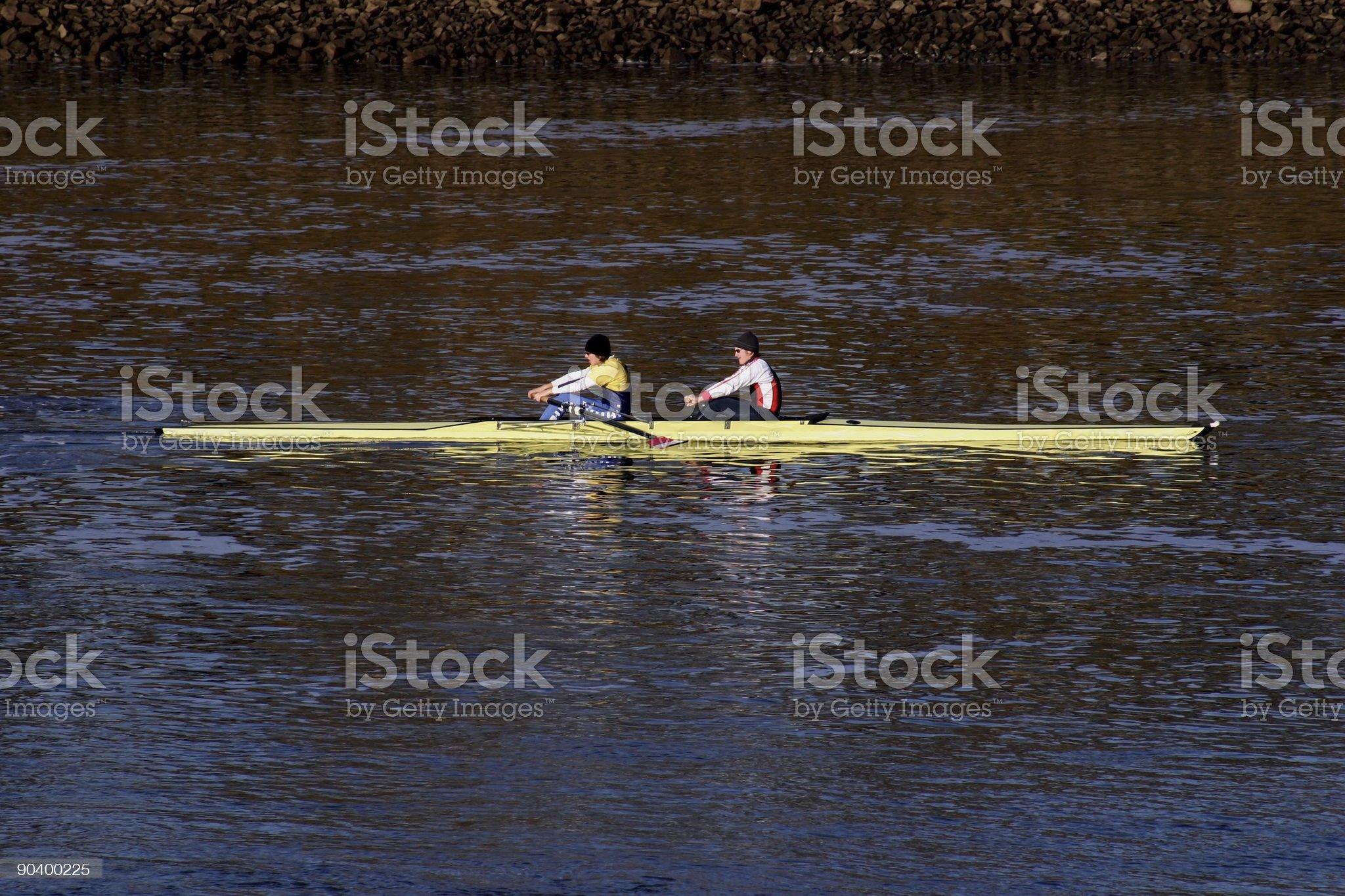rowboat royalty-free stock photo