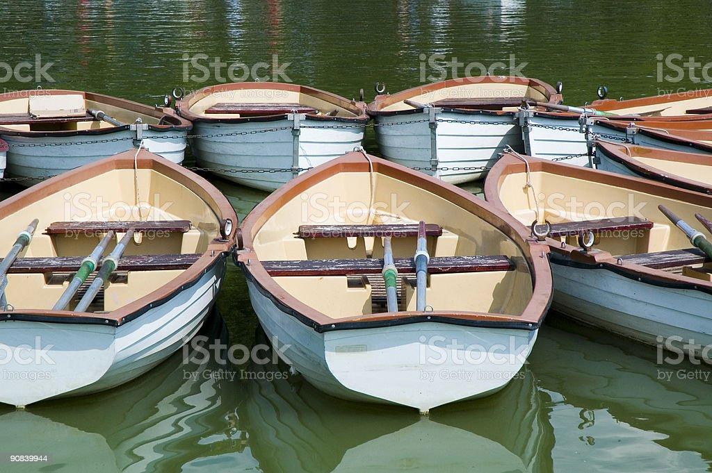 Rowboats - 4 royalty-free stock photo