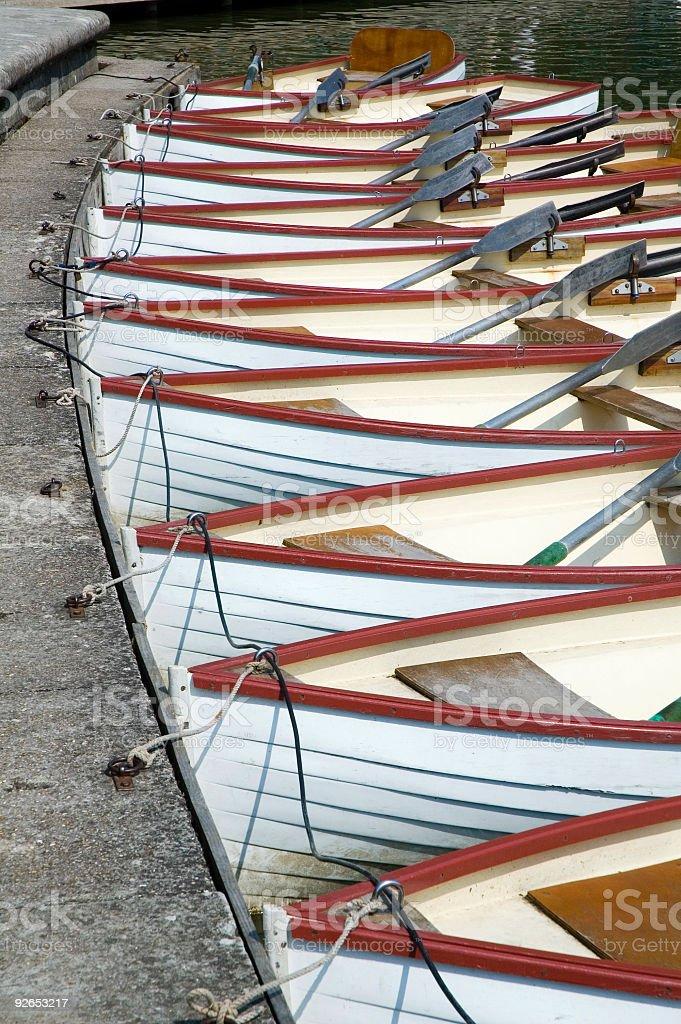 Rowboats foto stock royalty-free