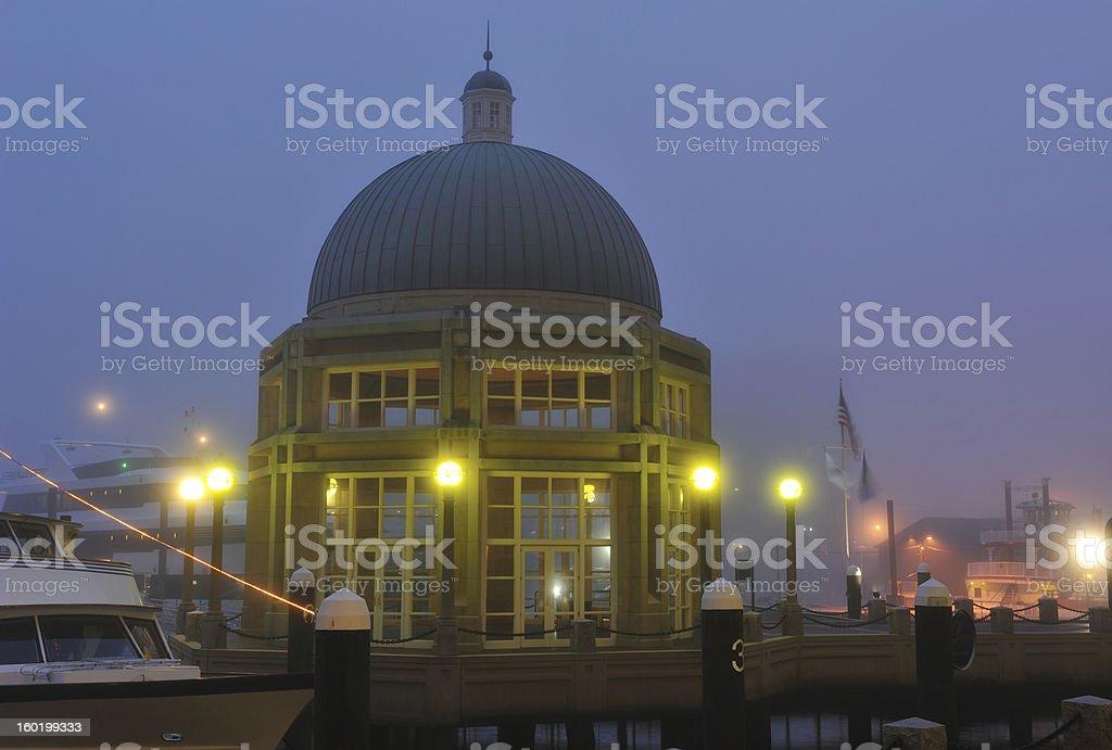 Rowes Wharf stock photo