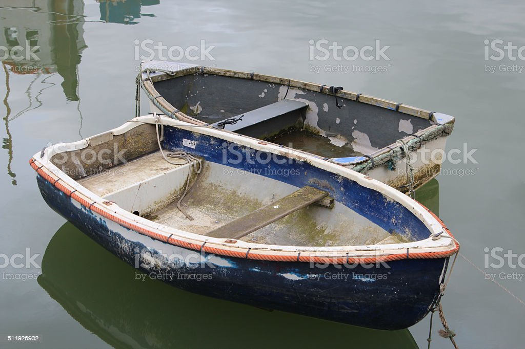 rowing boats stock photo
