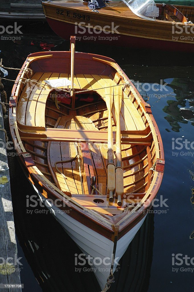 Rowing Dinghy stock photo