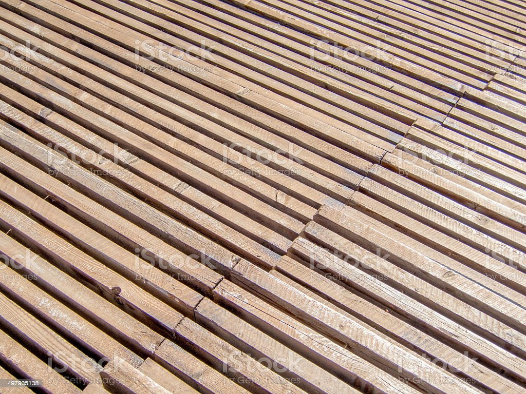 rows in a wooden sports rostrum pattern texture stock photo