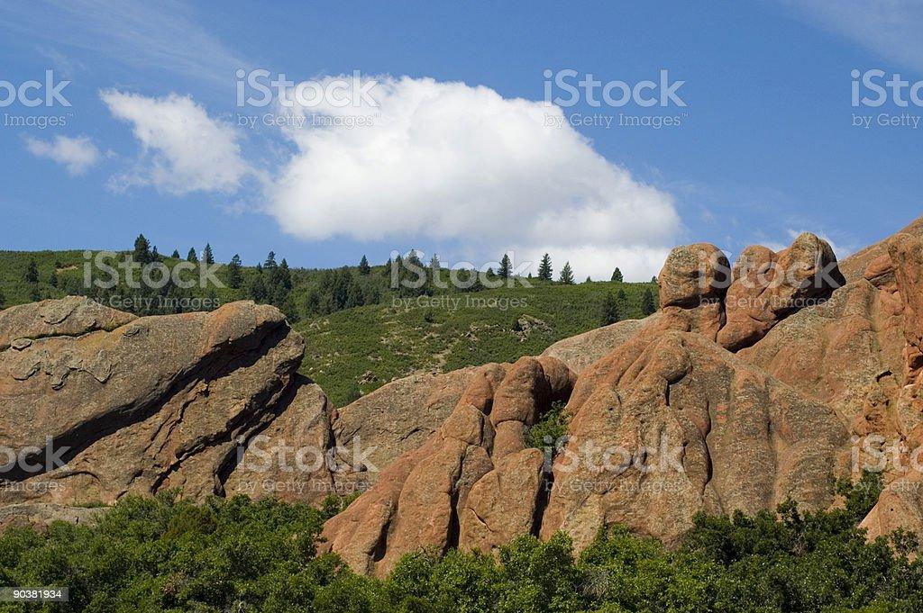 Roxborough State Park - Colorado royalty-free stock photo