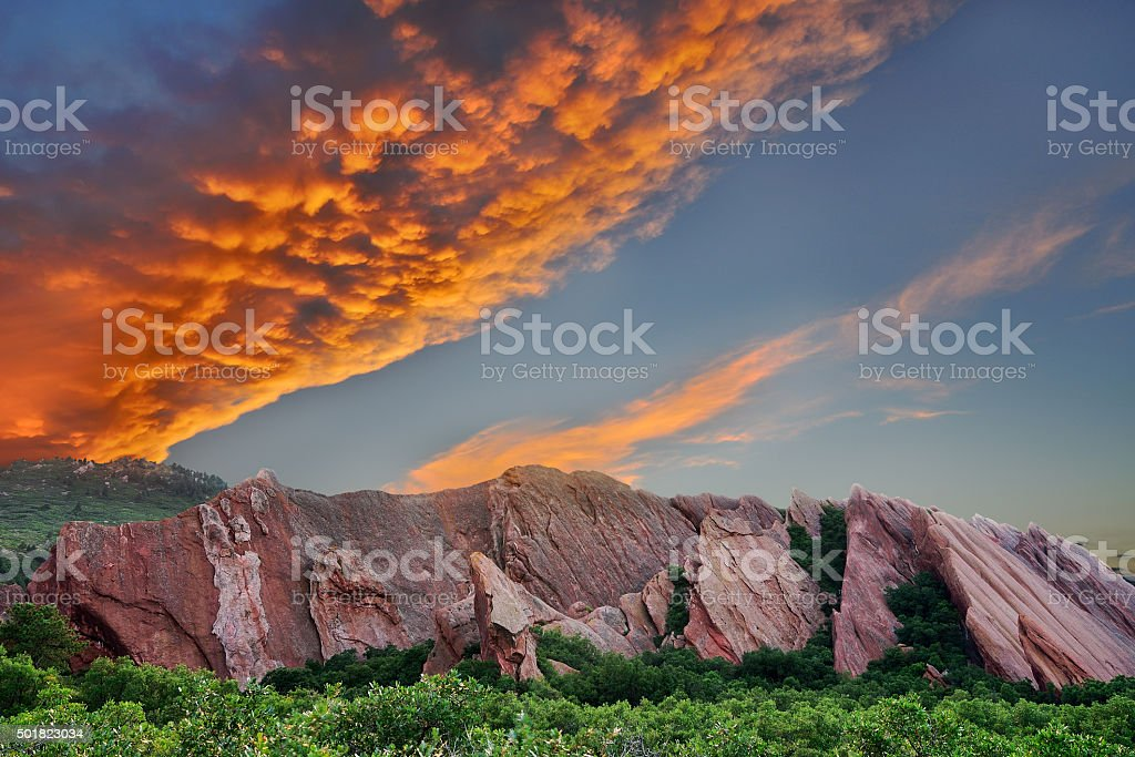 Roxborough State Park stock photo