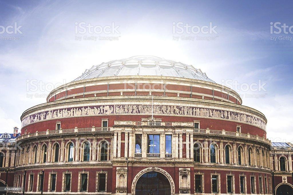 Royal Ablert Hall stock photo