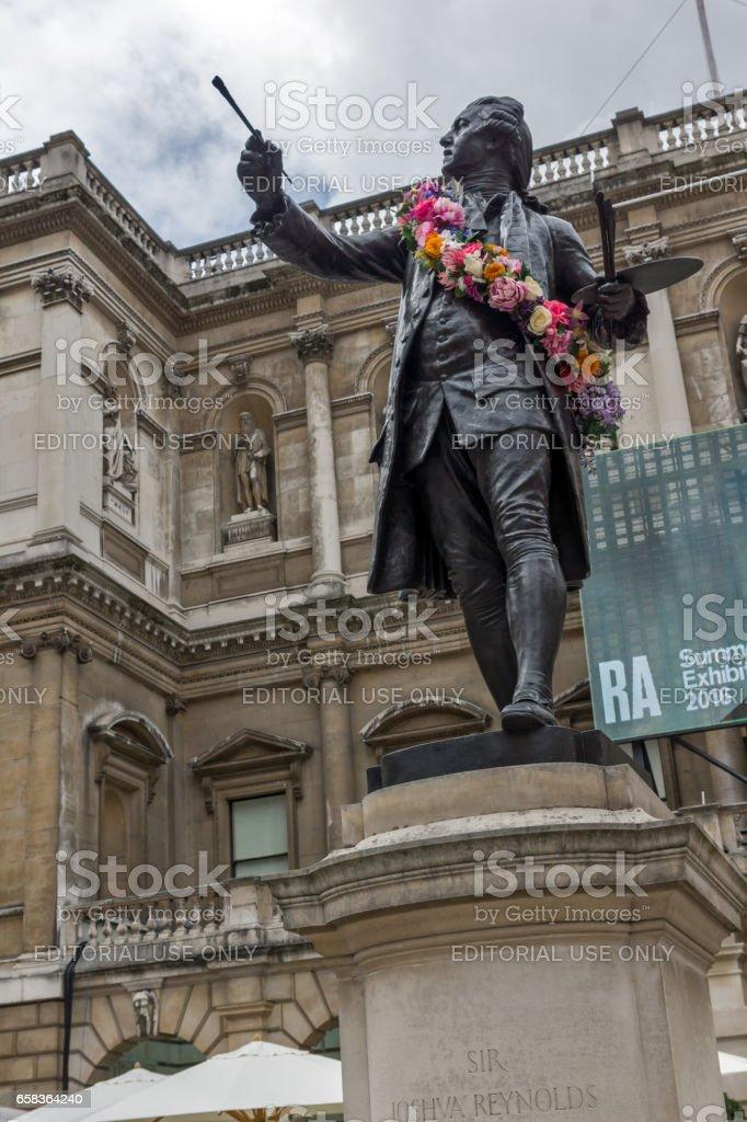 LONDON, ENGLAND - JUNE 16 2016: Royal Academy of Arts, City of London, England stock photo